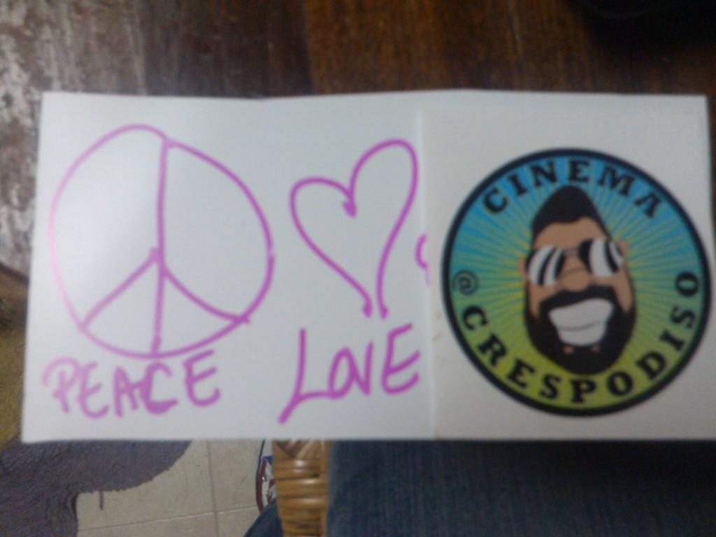 Peace Love and Cinema...