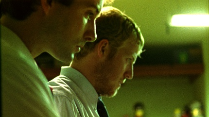Shane Carruth and David Sullivan in Primer...Primer